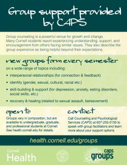 Group Counseling | Cornell Health