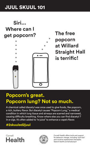 JUUL Popcorns great poster