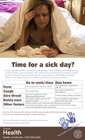 Time for a sick day?