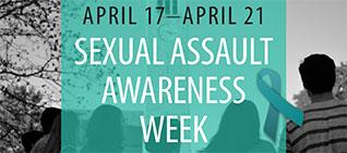 Sexual Assault Awareness Week April 17-21